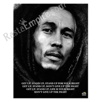 Bob Marley Get Up Stand Up Mini Poster 16