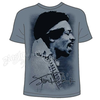 Jimi Hendrix Profile Slate T-Shirt - Men's