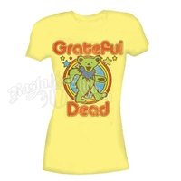 Grateful Dead Retro Bear Banana T-Shirt - Women's