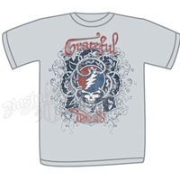 Grateful Dead Vines Silver T-Shirt - Men's