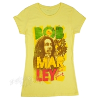 Bob Marley Sun Is Shining Banana T-Shirt - Women's