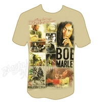 Bob Marley Trenchtown Rock Cream T-Shirt - Men's