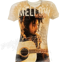 Bob Marley Mellow Mood Nude Colored T-Shirt - Women's
