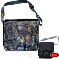 Bob Marley 1979 Survival Tour Messenger Bag