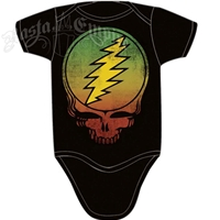 Grateful Dead Rasta Steal Your Face Creeper - Black