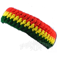 Rasta Crochet Headband