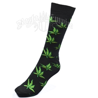 Weed Leaves Socks