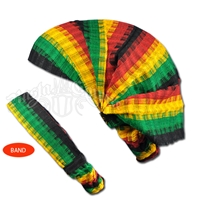 Rasta Woven Cotton Headband/Kerchief