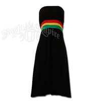 Rasta and Reggae Mini Tube Dress