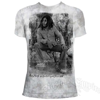 Bob Marley 56 Hope Road Silver T-Shirt - Men's