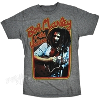 Bob Marley & The Wailers Retro Athletic Heather T-Shirt - Men's