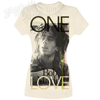 Bob Marley One Love Ivory T-Shirt - Women's