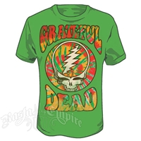 Grateful Dead Groovy Grass Green T-Shirt - Men's