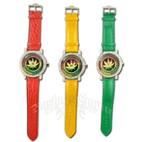 Rasta Jumbo Wrist Watch