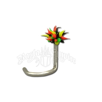 Rasta Koosh Nose Stud Body Jewelry