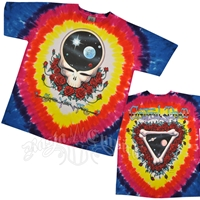 Grateful Dead Space Your Face Tie Dye T-Shirt - Men's