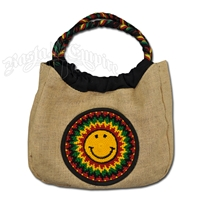 Rasta Happy Face Purse