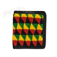 Rasta Cotton Bi-Fold Wallet