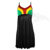 Rasta and Reggae Short Dress