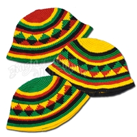 Rasta and Reggae Kids Crochet Hat