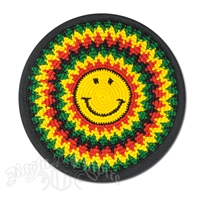 Rasta and Reggae Happy Face Mouse Pad