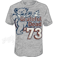 Grateful Dead 73 Bears Athletic Heather T-Shirt - Men's