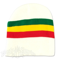 Rasta Stripes with White 8