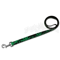 Marijuana Leaves Dog Leash
