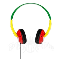 Rasta SkullCandy On-Ear Uprock Headphones