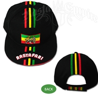 Rastafari & Lion of Judah Ball Cap