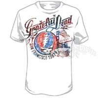Grateful Dead San Francisco 1967 White T-Shirt - Men's