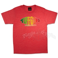 Rasta Tuff Gong Logo Heather Red T-Shirt - Men's