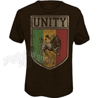 Unity & Lion of Judah Heather Brown T-Shirt - Men's