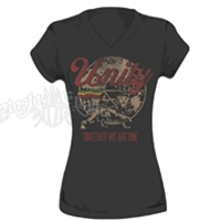 Unity & Lion of Judah Dark Chocolate T-Shirt - Women's