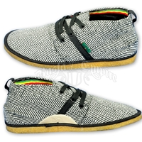 Bob Marley Pipeline Herringbone Black Shoes – Men's