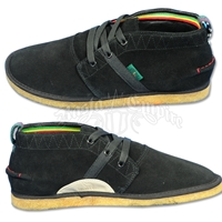 Bob Marley Pipeline Black Shoes – Men's