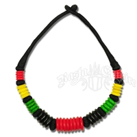 Rasta and Reggae Beaded Choker