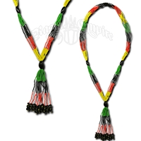 Rasta and Reggae Bolo Necklace