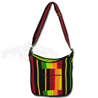 Rasta & Reggae Stripe Shoulder Bag