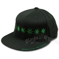 Pot Leaf Black Cap