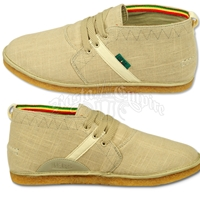 Bob Marley Pipeline Tan Burlap Shoes – Men's