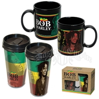 Bob Marley Travel & Ceramic Mug Set