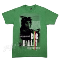 Bob Marley Forget Your Past Green T-shirt - Men's