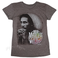 Bob Marley and The Wailers Heather Brown T-Shirt - Women's