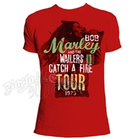 Bob Marley CAF Tour Red T-Shirt - Men's