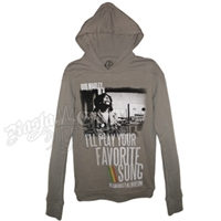 Bob Marley Favorite Song Grey Long Sleeve Thermal - Women's