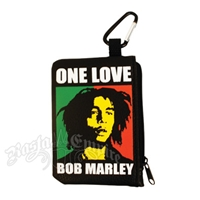Bob Marley One Love Coin & Card Case