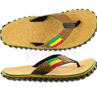Bob Marley Cork Brown Sandals - Men's