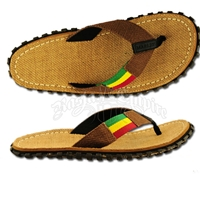 Bob Marley Hemp Brown Sandals - Men's