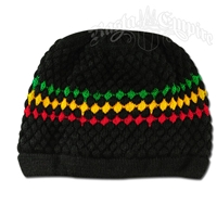 Rasta and Reggae Knit Beanie